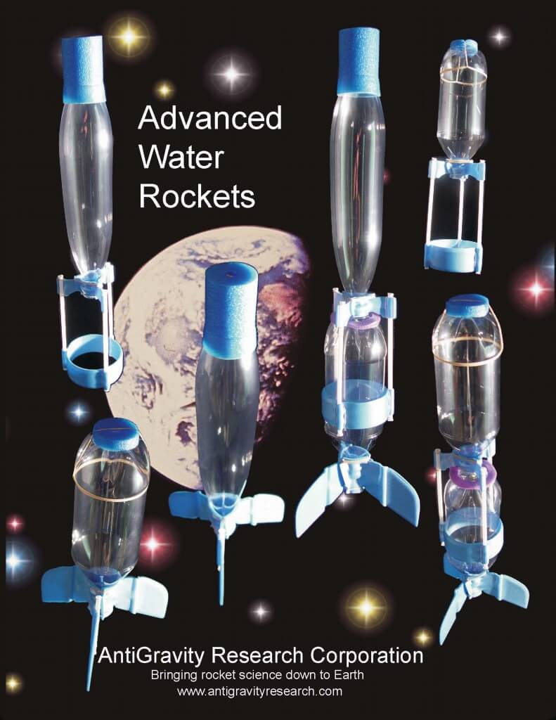The Water Rocket Book  -  All about Water Rockets / Pop Bottle Rockets  -  from AntiGravity Research Corporation